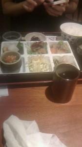梅田の昼食